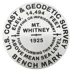 Mt. Whitney Pin